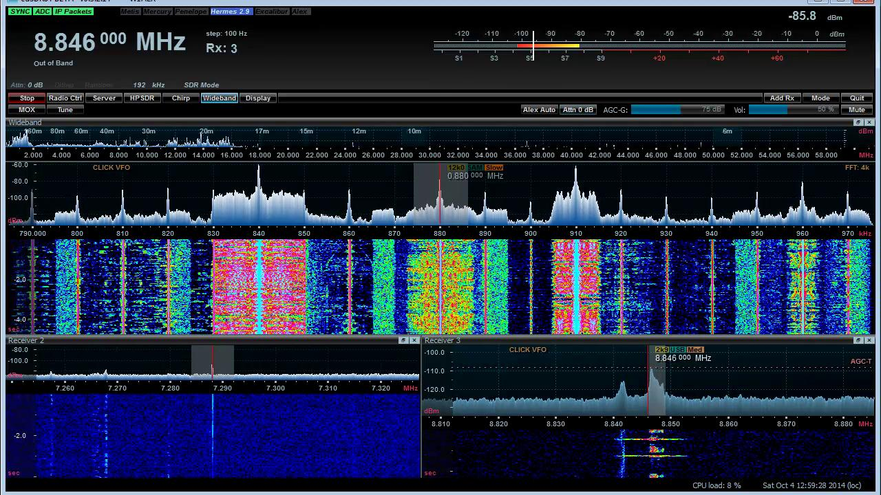 SDR Adventures with my Apache Labs ANAN
