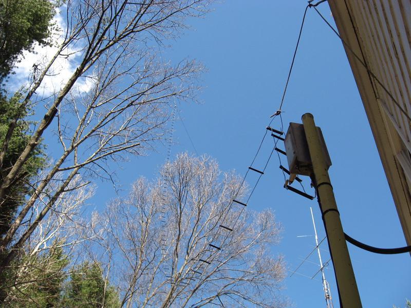 Homemade Open Wire Feedline